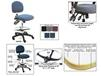 BENCHPRO™ ESD FABRIC INDUSTRIAL CHAIRS WITH ARMS